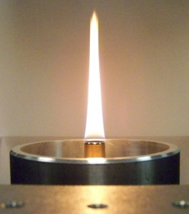 Santoro diffusion flame